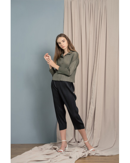 Theana Top Olive Green
