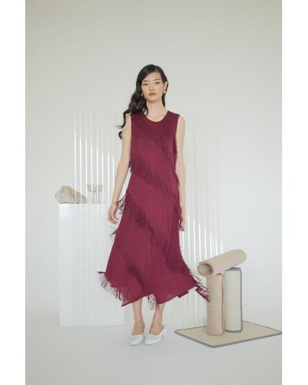 Sammi Dress Maroon