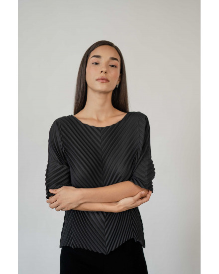Cole Top in Charcoal - PREORDER