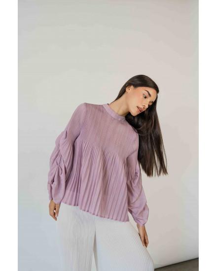 Aela Top in Lilac - PREORDER