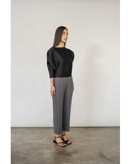 Chlo Top in Charcoal - PREORDER