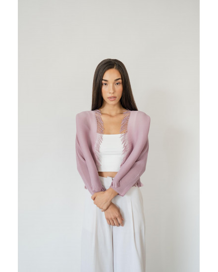 Claire Top in Lilac