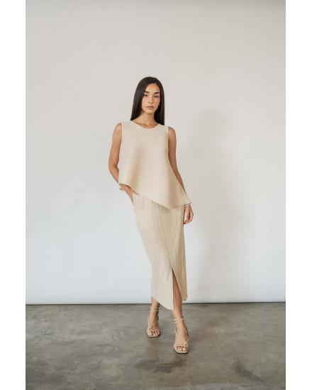 Gaia Skirt in Charcoal