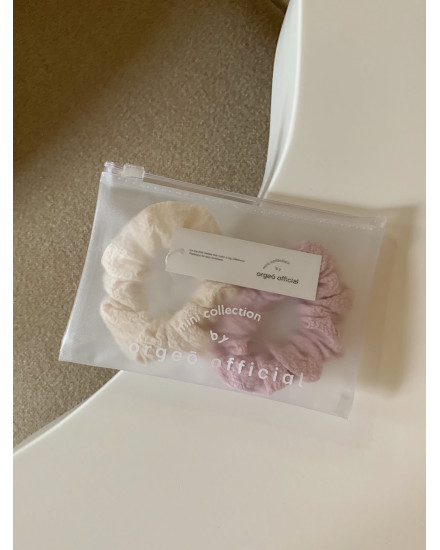 Le Scrunchies Set - Lilac Powder