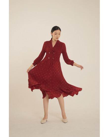 Moxie Dress Red