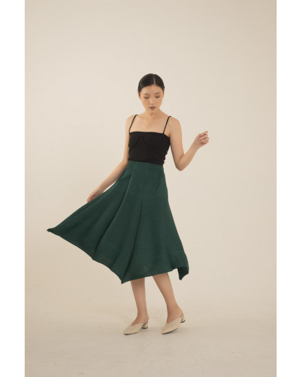 Dolf Skirt in Deep Green - PREORDER