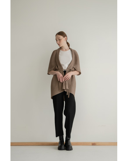 Lene Outer in Coffee - PREORDER