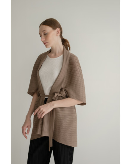 Lena Outer in Coffee