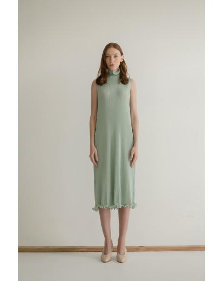 Megan Dress in Pistachio - PREORDER