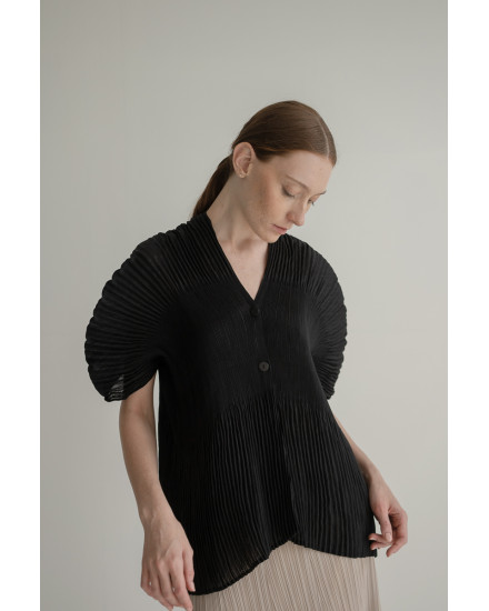 Jules Top in Charcoal
