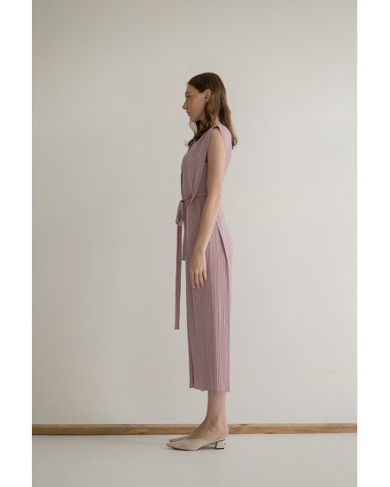 Thea Jumpsuit in Lilac