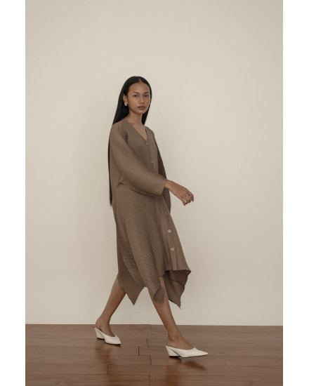 Moss Dress in Taupe