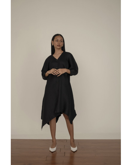 Moss Dress in Charcoal