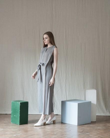 Thea Jumpsuit Light Grey