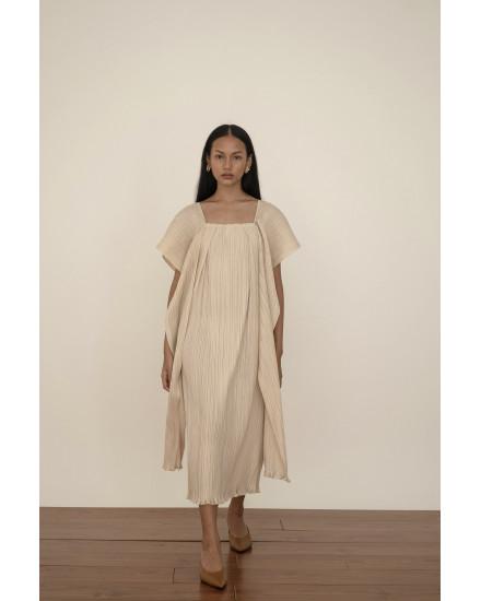 Kaya Dress in Beige - PREORDER