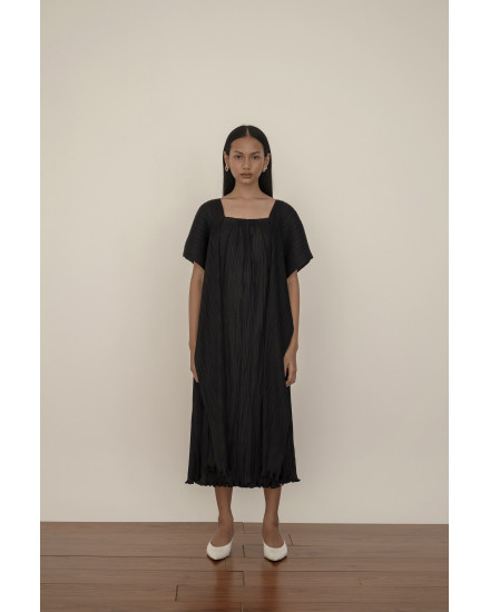 Kaya Dress in Charcoal