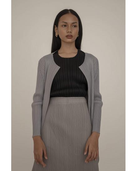Senna Skirt in Light Grey