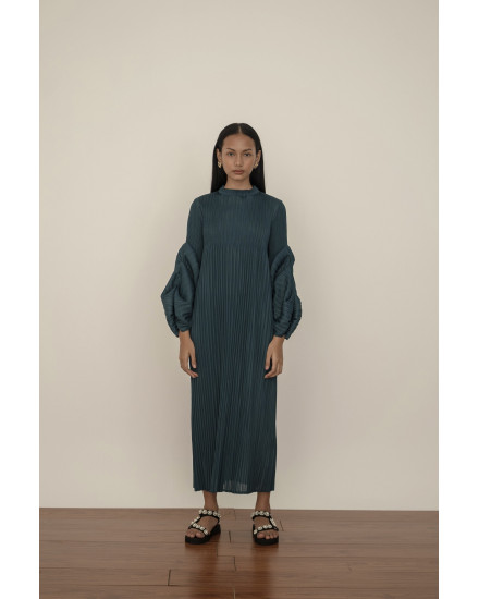 Aela Dress in Deep Blue - PREORDER