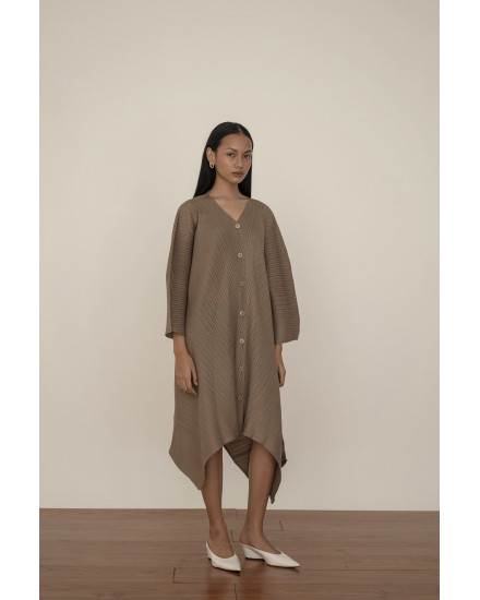 Gamo Dress in Taupe - PREORDER