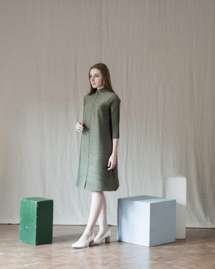 Orge Dress Olive Green