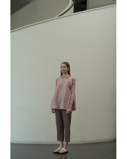 Oza Top in Dust Pink