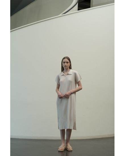 Faye Dress in Oat