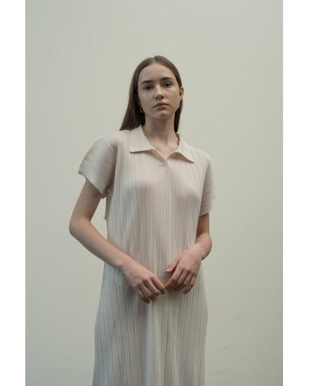 Faye Dress in Bone