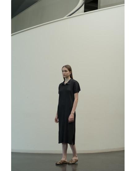 Faye Dress in Charcoal