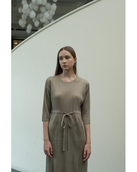 Camden Dress in Moss Green