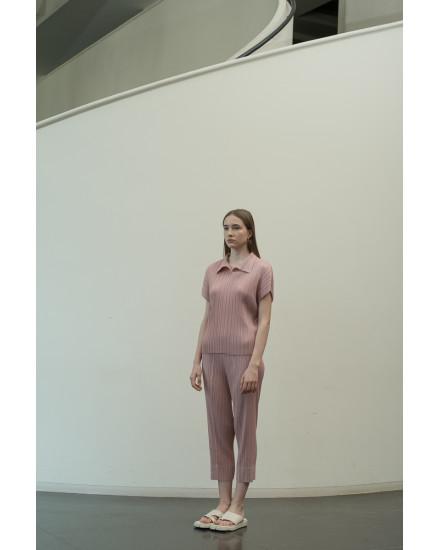 Faye Top in Dust Pink