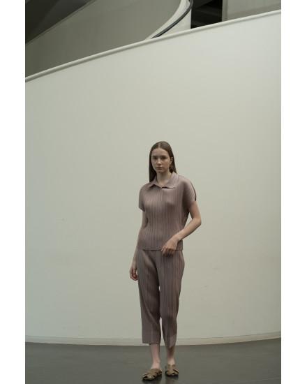 Faye Top in Grey